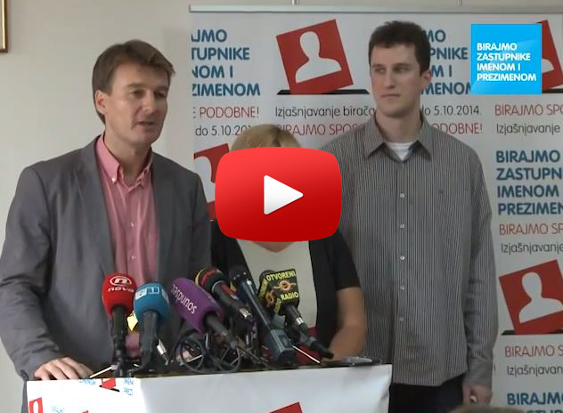 Video – Konferencija za medije, 27. 8. 2014.