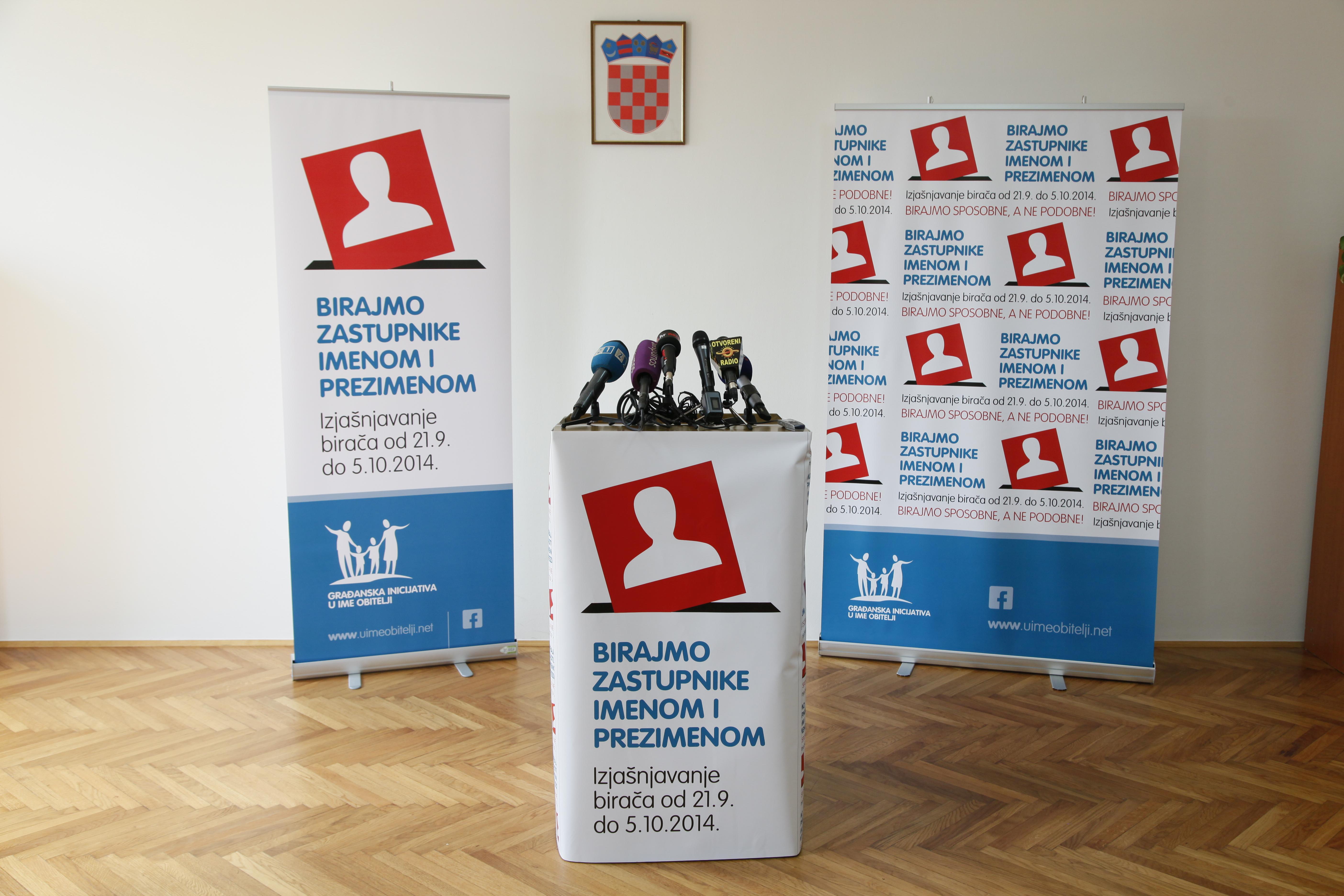 Najava – Konferencija za medije, 8. 10. 2014.