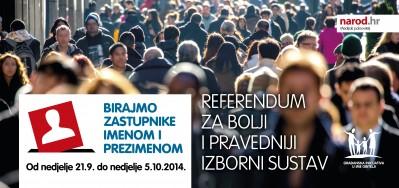 Od sutra izjašnjavanje građana u cijeloj Hrvatskoj