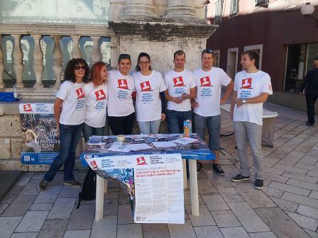 Predaja više od 380 tisuća potpisa građana Hrvatskom saboru 22. listopada