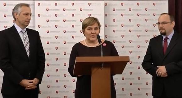 VIDEO Željka Markić u Slovačkom parlamentu: U Slovačkoj političari slušaju što narod govori