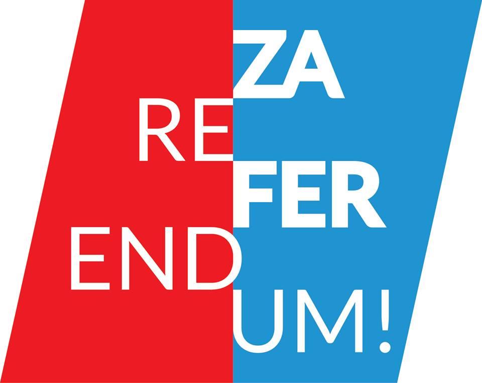 Podupiremo izjašnjavanje o referendumu iako nam je zapriječeno da u njemu sudjelujemo