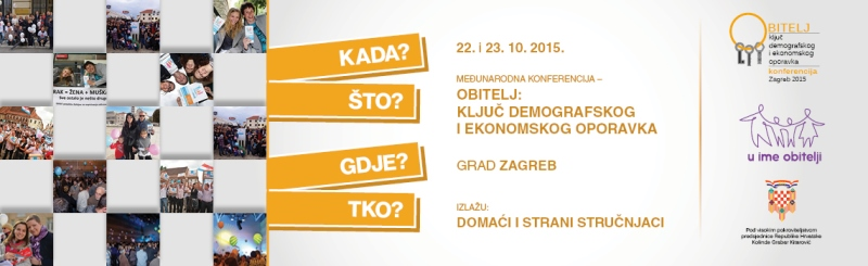 Organiziramo međunarodnu konferenciju o osnaživanju obitelji u Zagrebu