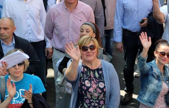 Željka Markić o Hodu za život, aktualnoj situaciji u zemlji, medijskim napadima…