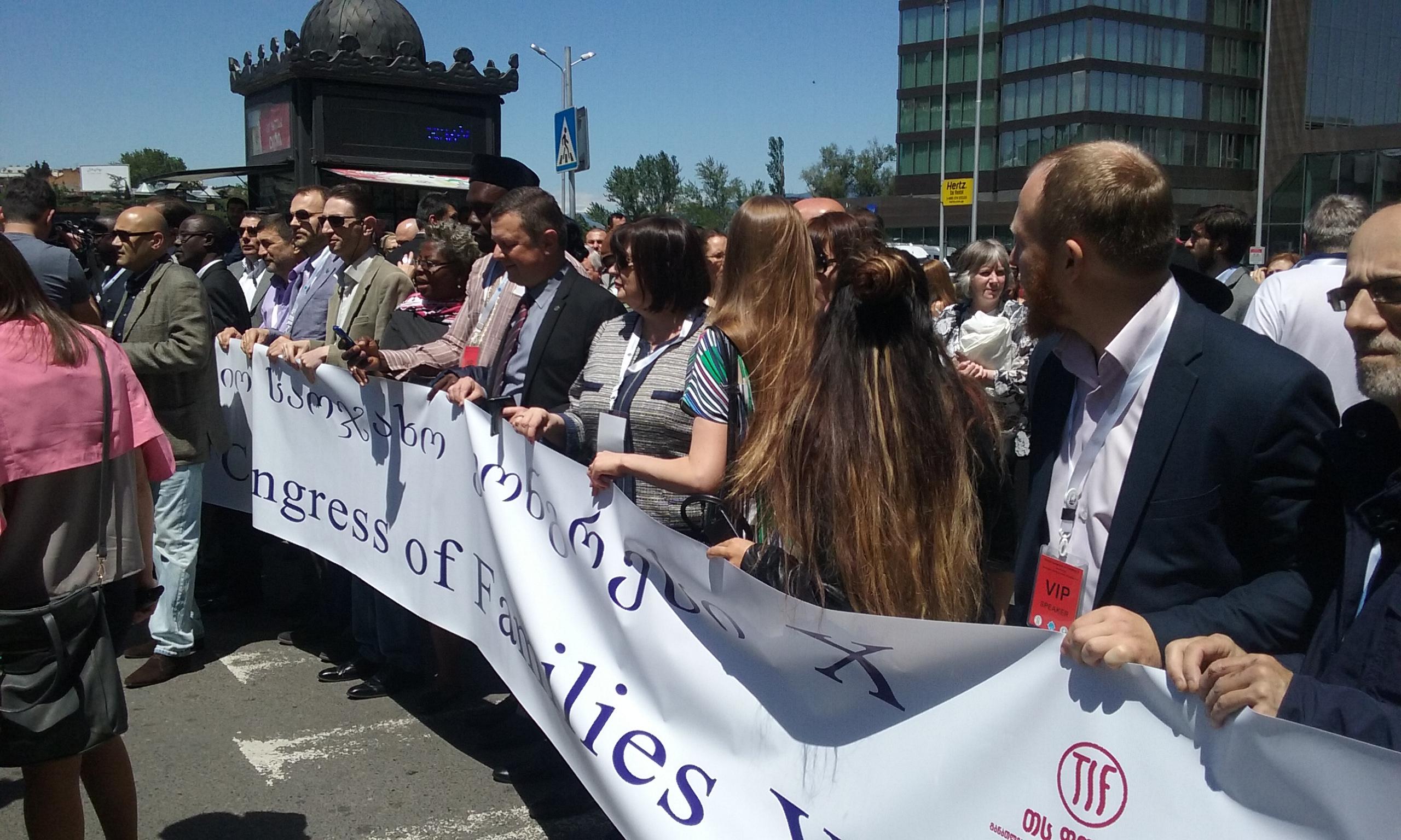 (FOTO+VIDEO) U ime obitelji na konferenciji i Hodu za obitelj u Gruziji