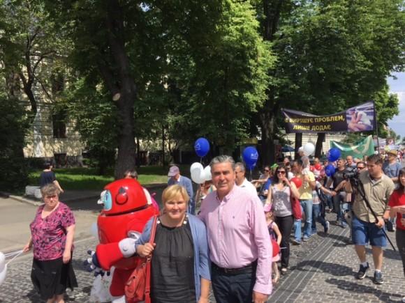 (FOTO) U ime obitelji na Hodu za život, brak i obitelj u Kijevu