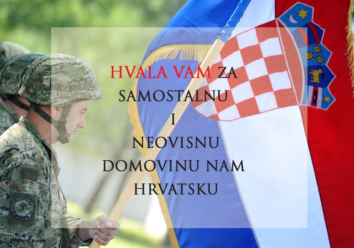 Dragi prijatelji i podupiratelji, svakome ponaosob čestitam Dan državnosti!