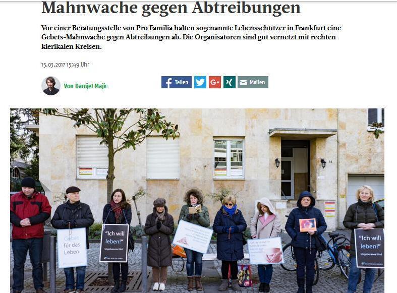 Pročitajte laži koje je Danijel Majić objavio o Hrvatima i U ime obitelji u Frankfurter-Rundschau