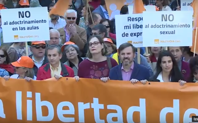 (VIDEO) Španjolci prosvjedovali protiv rodne ideologije