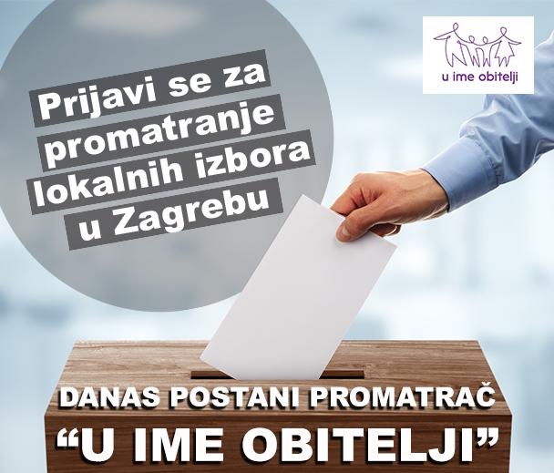 PRODUŽEN ROK za prijavu za promatranje izbora do petka, 12. 5. 2017.