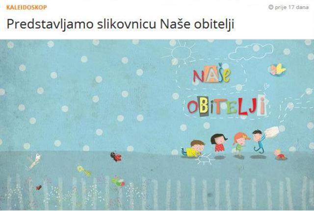 Udruga Roda izdala slikovnicu kojom među djecom promovira redefiniciju obitelji i posvajanje djece od strane LGBT parova