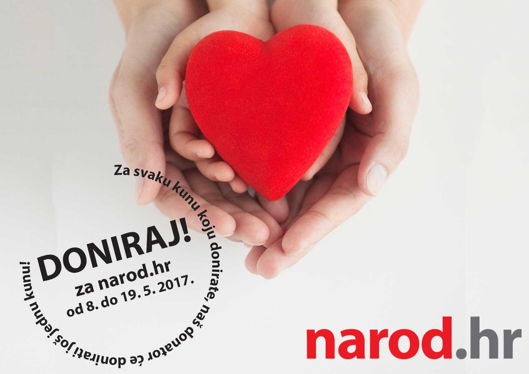 Narod.hr se financira donacijama čitatelja – trebamo Vašu potporu!