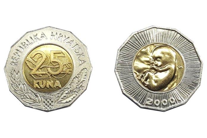 Dr. Markić predala papi Franji hrvatsku kovanicu s likom nerođenog djeteta: Znate li zašto je posebna?
