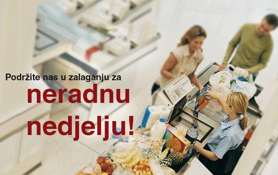 UIO: Trgovci imaju pravo na neradne nedjelje i blagdane