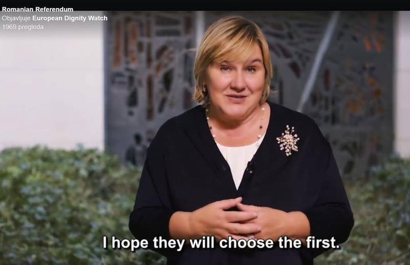 (VIDEO) Brojne europske udruge, među njima i U ime obitelji – podržale zahtjev rumunjskih građana za referendum o braku