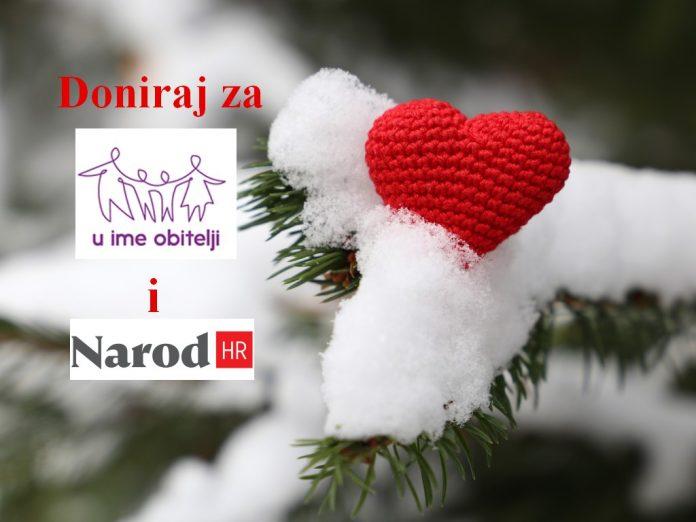"""Poduprite naš rad u božićnoj akciji """"2x više za UIO i Narod""""!"""