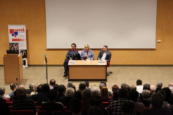 Dr. Željka Markić: 'Želimo li promijeniti način upravljanja Hrvatskom trebamo promjenu izbornog sustava'