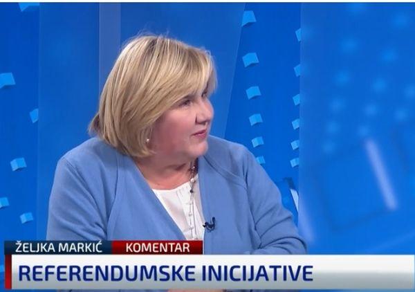 (VIDEO) Dr. Željka Markić za N1 o Narod odlučuje: 'Vjerujem odluci USUD-a iz 2014. da Sabor ne smije odbiti raspisivanje referenduma'