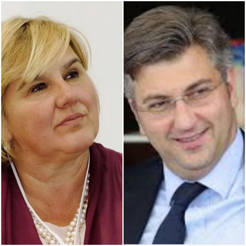 Plenković tvit nerazumljivog sadržaja spašavao fotografijom male kćerke: Stigao i odgovor Željke Markić