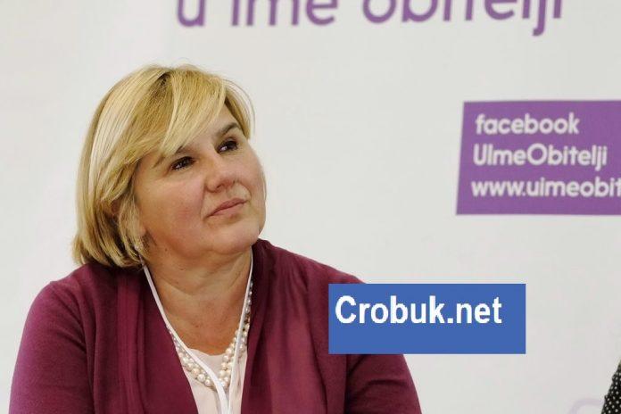 Dr. Željka Markić na Crobuk.net odgovarala građanima: Pročitajte što su je pitali!