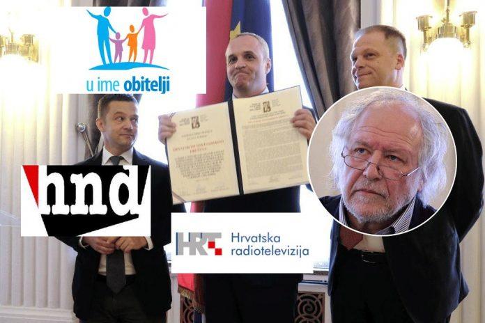Kako je HND pozivao na bojkot U ime obitelji – jer nisu akreditirali HRT i Index