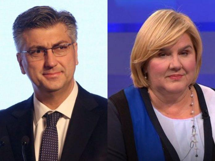 Ekskluzivno: Premijer Plenković pristao na 3 uvjeta dr. Markić da bi bila na listi HDZ-a za EU parlament
