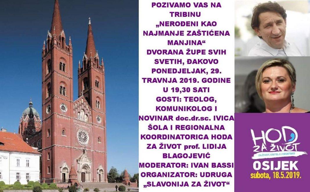Dođite 29. 4. na tribinu 'Nerođeni kao najmanje zaštićena manjina': Gostuju Ivica Šola i Lidija Blagojević