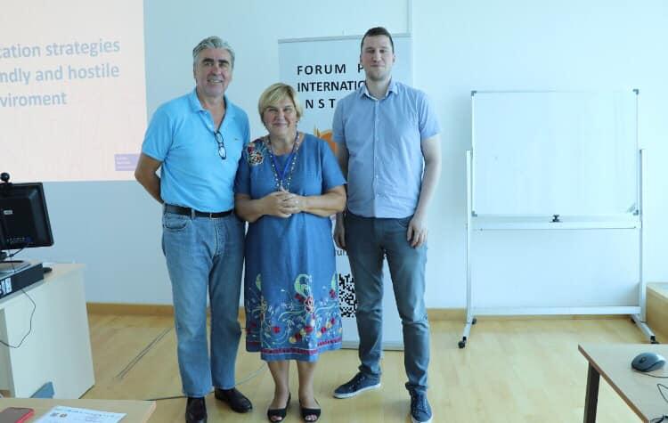 (FOTO) Dr. Željka Markić i Ivan Munjin na Forumu mladih katolika Hrvatske održali predavanja o zagovaranju i komunikacijskim strategijama