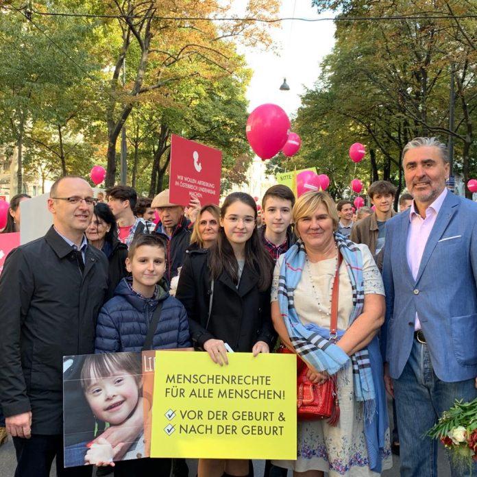 """Dr. Markić na bečkom Hodu za život: """"Naša je obveza hodati i govoriti u ime onih koji to ne mogu sami!"""""""