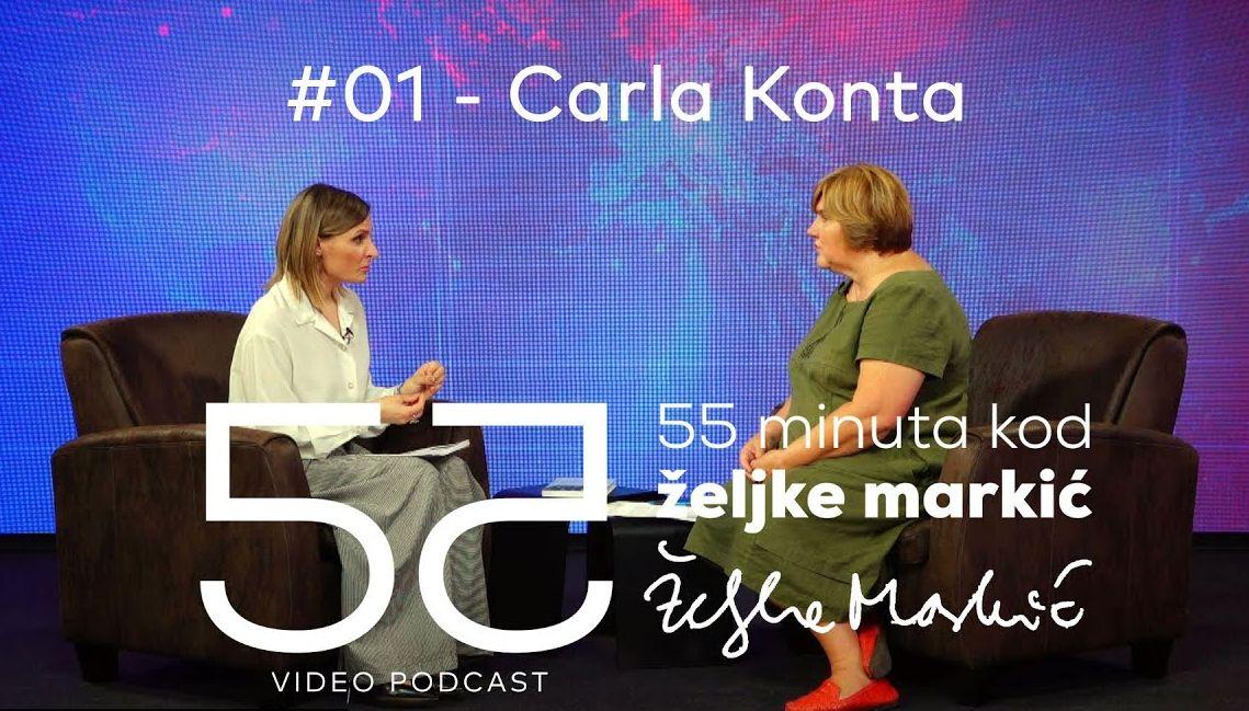 Novi podcast: 55 minuta kod Željke Markić, prva emisija premijerno danas u 12h