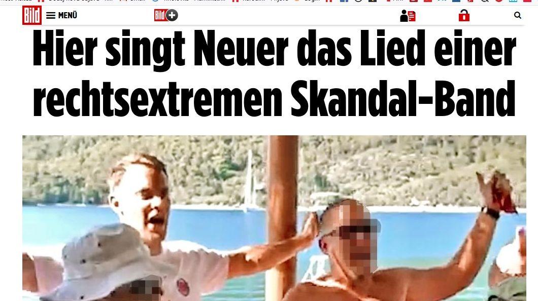 Hajka: Skandalozni Bild napao Neuera zbog pjevanja pjesme Marka Perkovića Thompsona