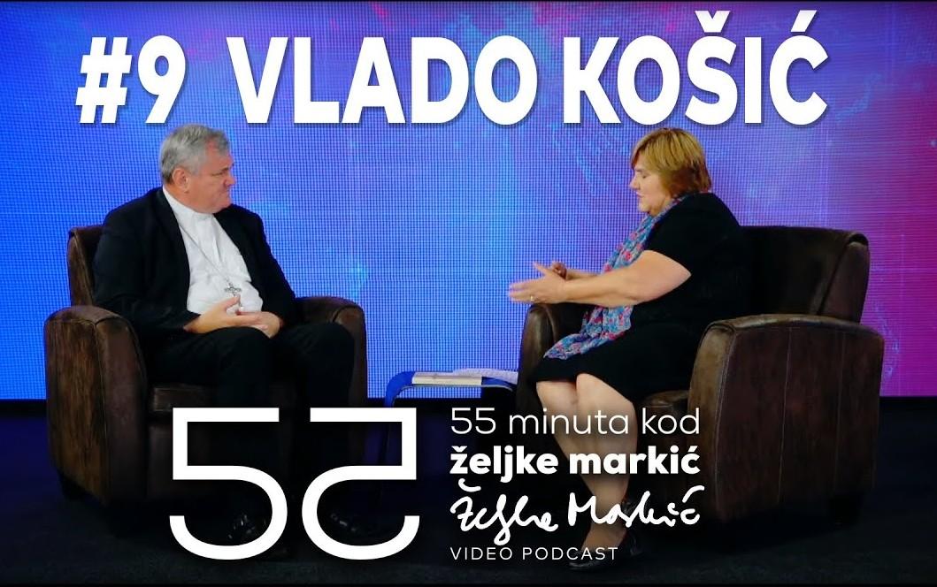 """(VIDEO) Biskup Košić u """"55 minuta kod Željke Markić"""" o odnosu SPC prema kardinalu Stepincu, župničkom radu na prvoj bojišnici, svom pozivu.."""