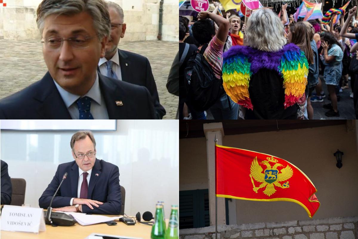 Zašto se Plenkovićeva Vlada uključila u LGBT lobiranja u Poljskoj, a ne štiti hrvatske interese u Crnoj Gori?