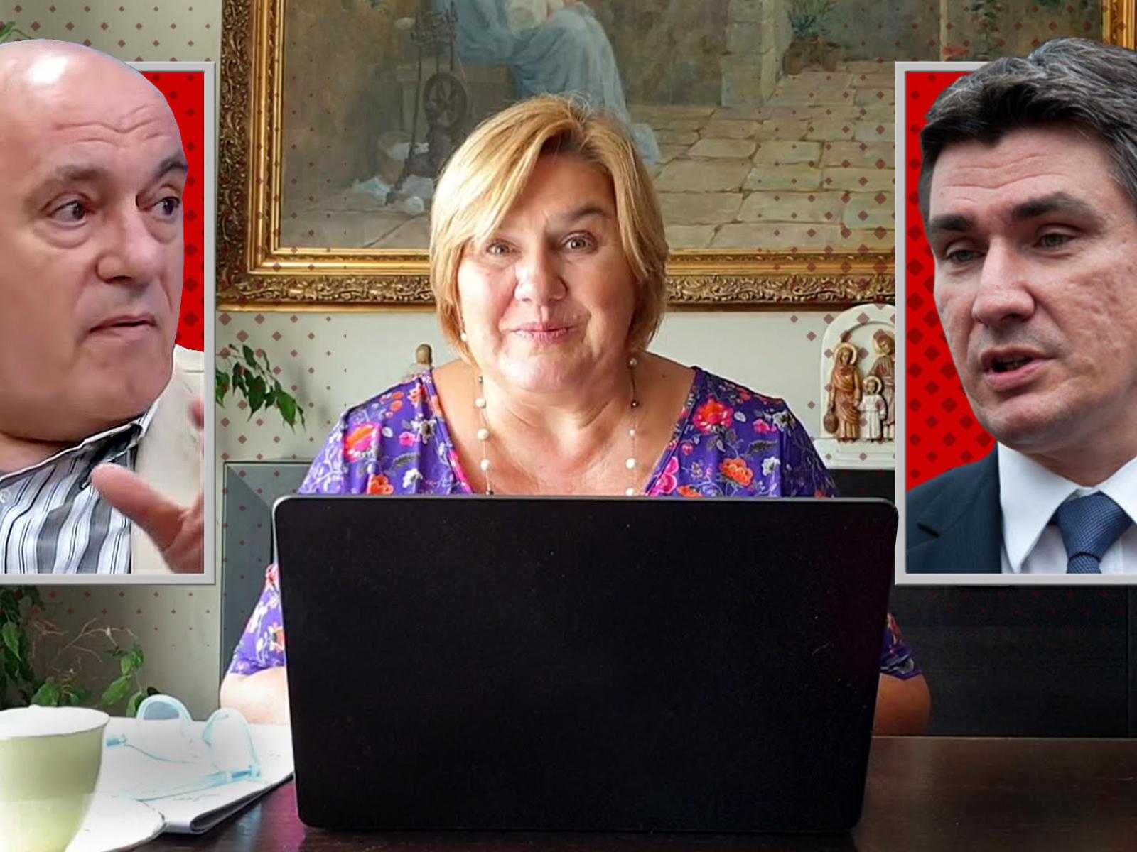 (VIDEO) Dr. Željka Markić komentirala Milanovićevo lustriranje Puhovskog