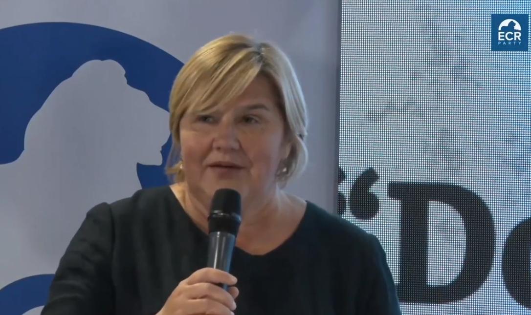 (VIDEO) Dr. Markić u Varšavi: 'EK od 2013. nije reagirala na zloupotrebu hrvatskih institucija'