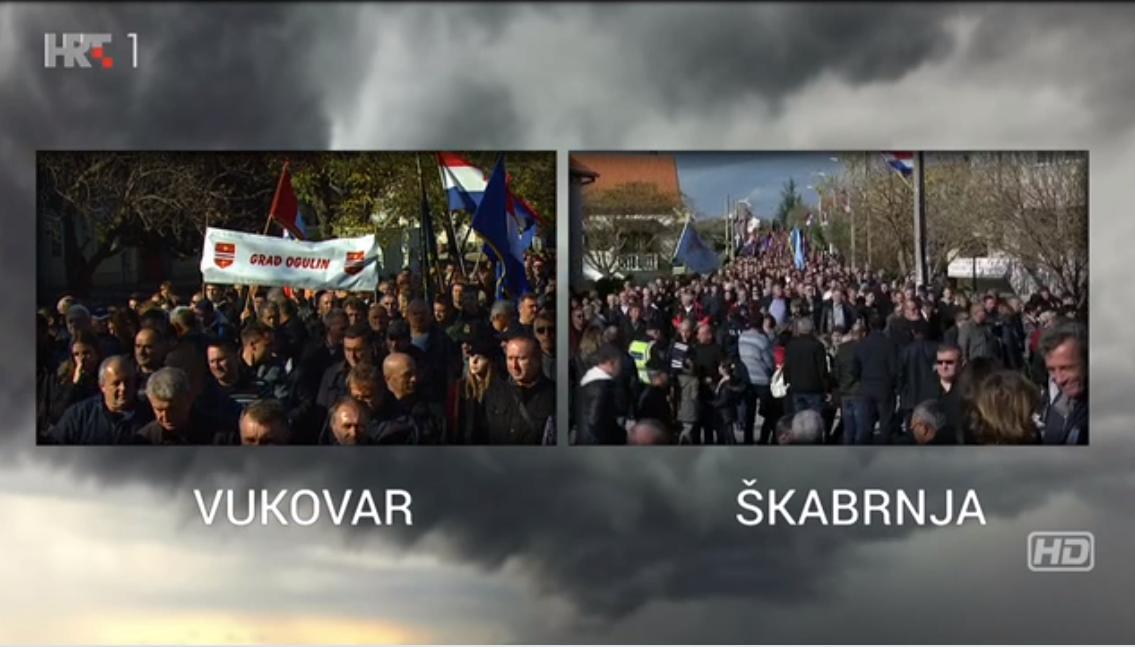18. studenoga 1991. Zločini srpske vojske – monstruozni pokolji u Vukovaru i Škabrnji