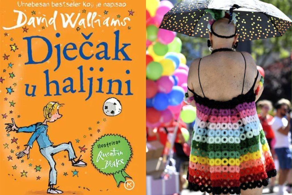 LGBT indoktrinacija javnim novcem: Kostrenskoj djeci knjiga 'Dječak u haljini'
