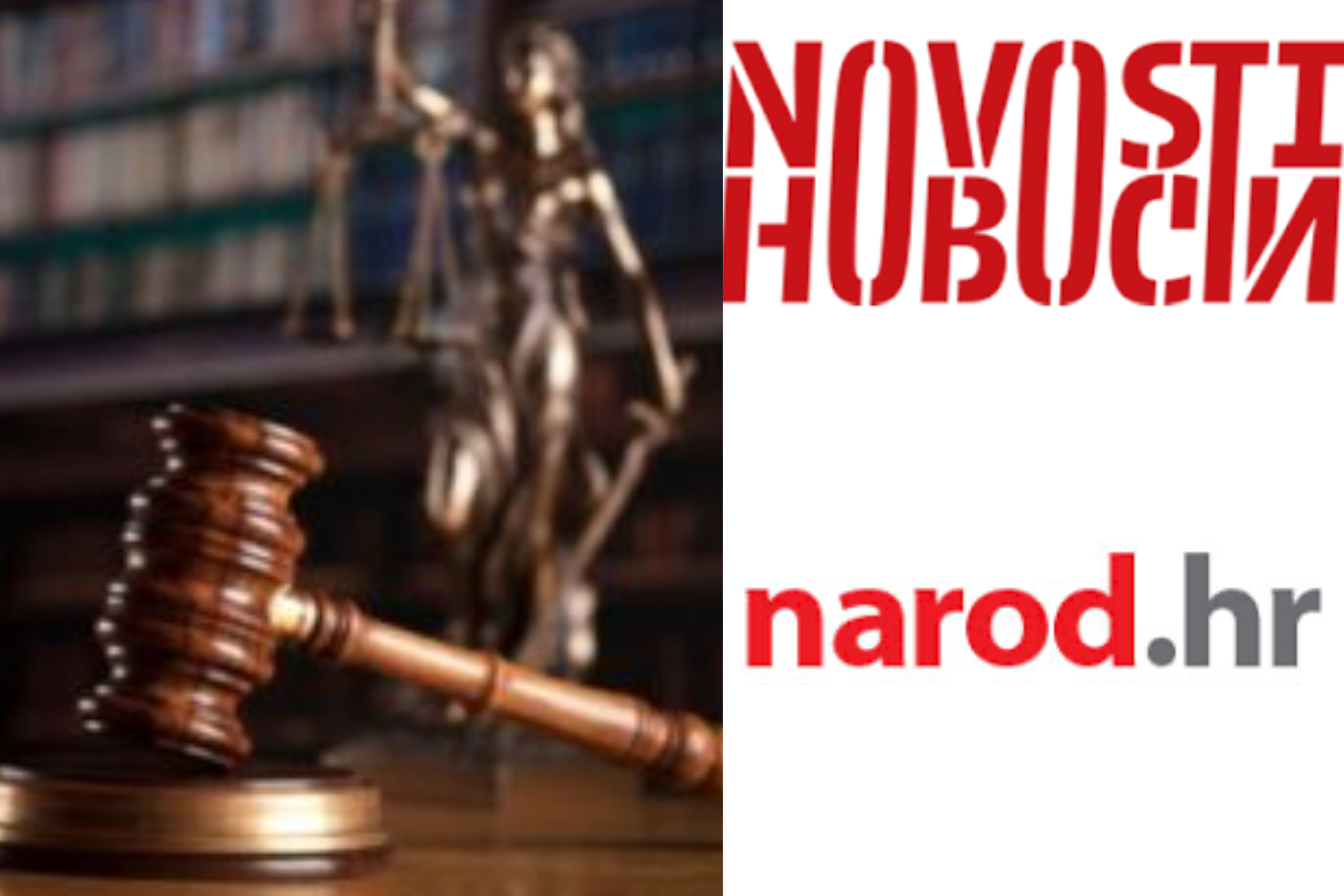 Dvostruki kriteriji sutkinje Krstanović Čada u presudama protiv Narod.hr-a i Novosti/SNV-a