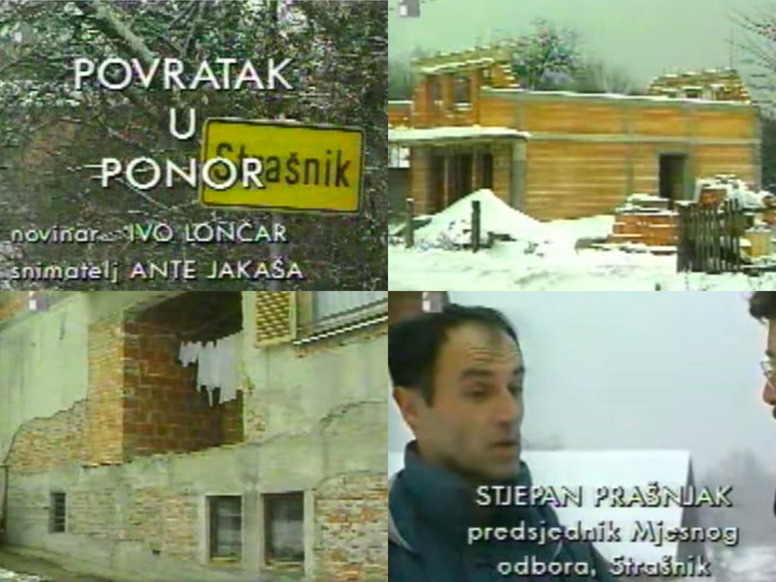 Strašnik: Pogledajte prilog pokojnog Lončara iz 1998. o kriminalu u obnovi na Banovini