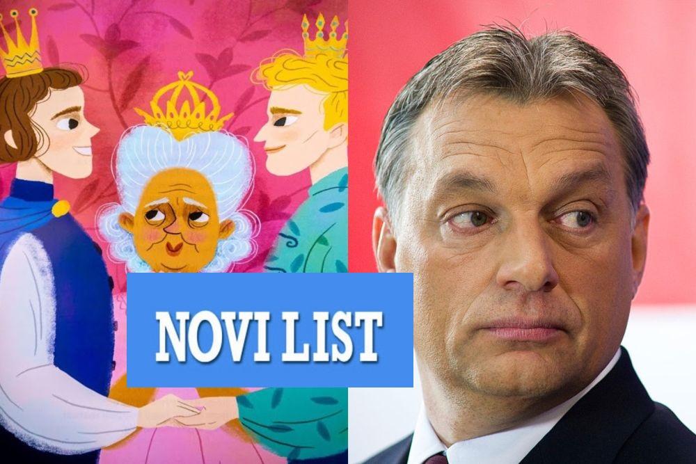 Novi list promovira dječju LGBT knjigu koju je mađarska vlada oštro kritizirala