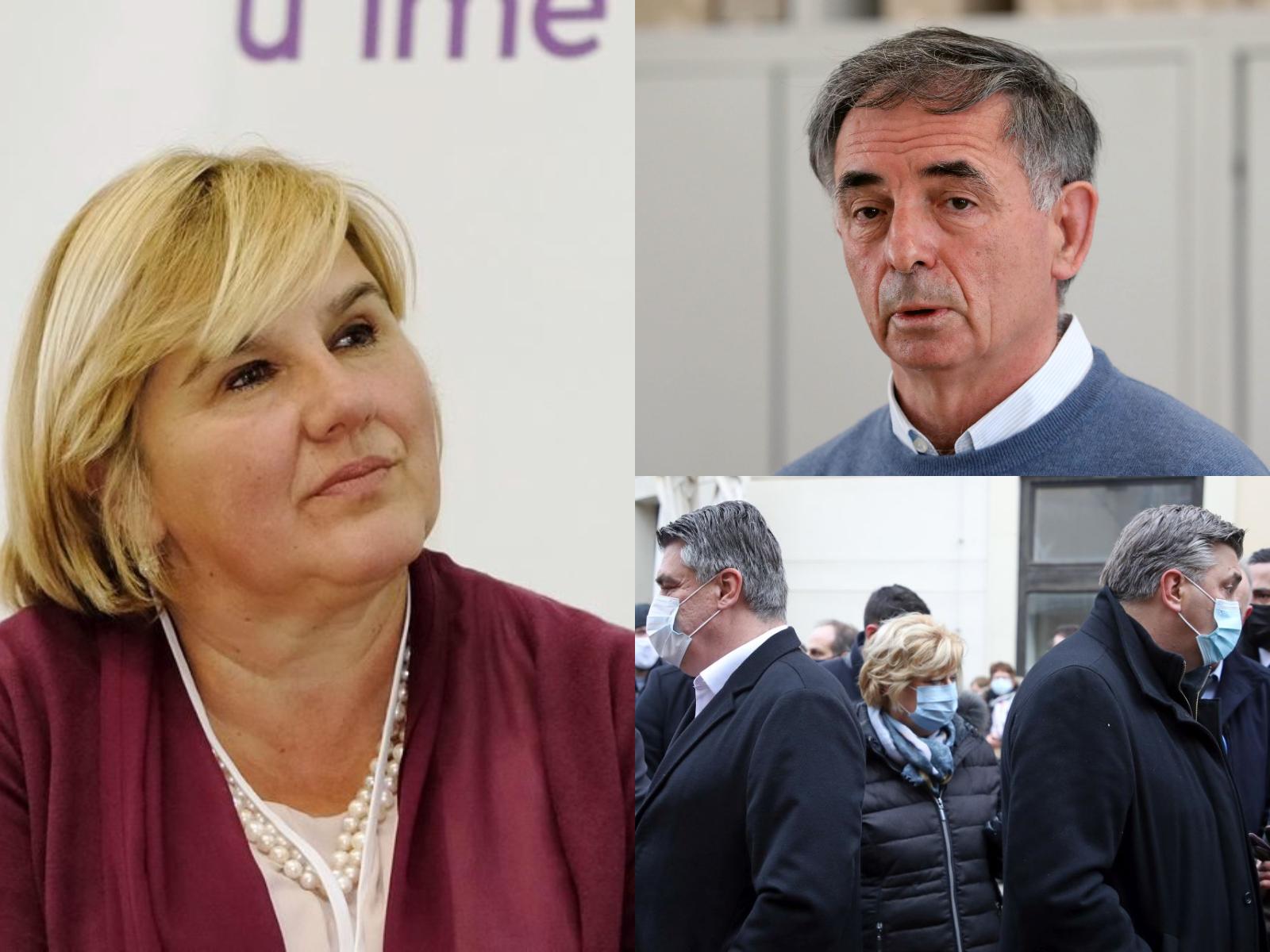 Dr. Željka Markić komentirala Plenkovićev i Milanovićev sukob za Pupovčevu naklonost