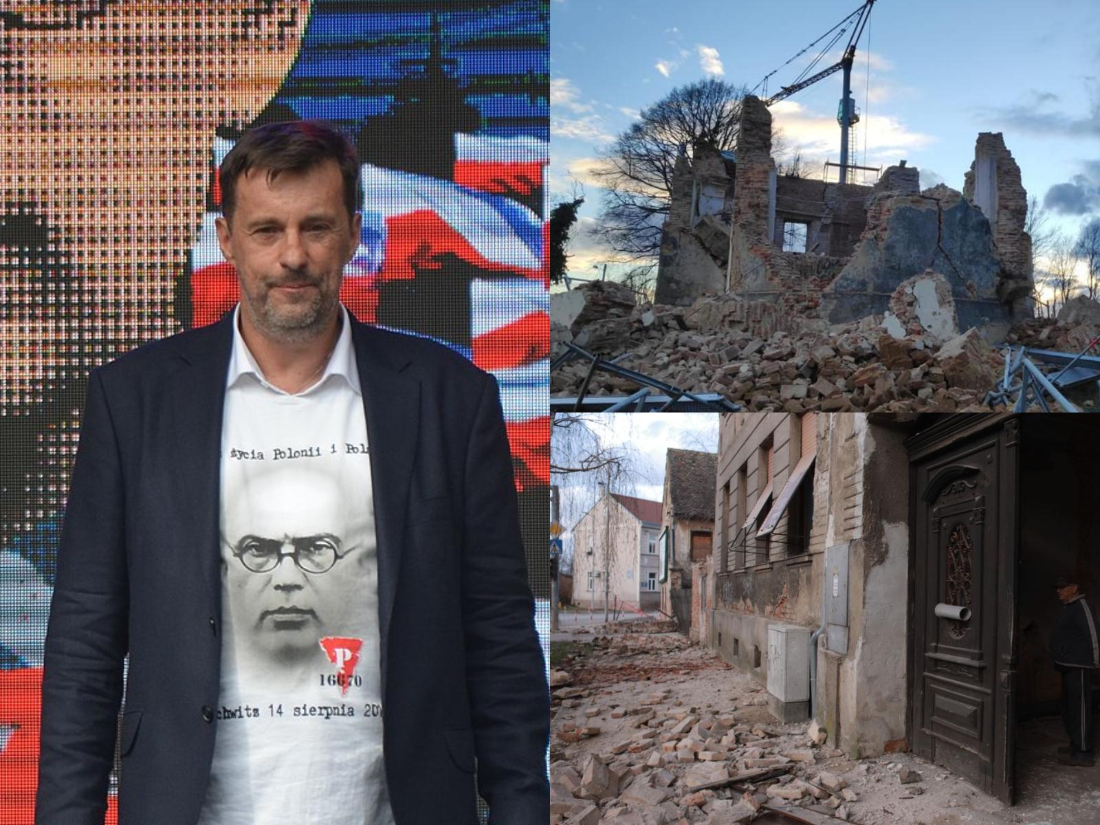 Donacija 10.000 Poljaka: Pomoć Hrvatima nakon potresa na Banovini