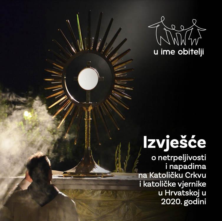 Izvješće o netrpeljivosti i napadima na Katoličku Crkvu i katoličke vjernike u Hrvatskoj u 2020.