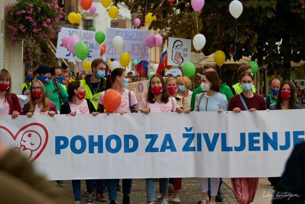 Hod za život u Ljubljani: 'Želimo dati javnu podršku, ljubav, poštovanje i solidarnost svoj nerođenoj djeci'